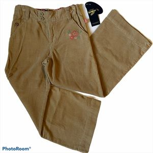 NWT OshKosh B'Gosh Girls Tan Corduroy Pants 5